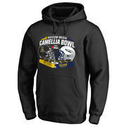 Men's Fanatics Branded Black Appalachian State Mountaineers vs. Toledo Rockets 2016 Camellia Bowl Motion Pullover Hoodie