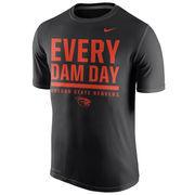 Men's Nike Black Oregon State Beavers Local Verbiage Dri-FIT Legend T-Shirt