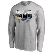 Men's Heather Gray Army Black Knights vs. Navy Midshipmen 2016 America's Game Matchup Long Sleeve T-Shirt