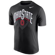 Men's Nike Black Ohio State Buckeyes Legend Football Icon T-Shirt