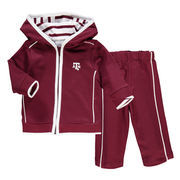 Newborn & Infant Maroon Texas A&M Aggies French Terry Pant & Jacket Sweat Set