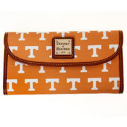 Women's Dooney & Bourke Tennessee Orange Tennessee Volunteers Team Color Continental Clutch