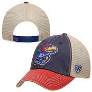 Kansas Jayhawks Top of the World Offroad Trucker Adjustable Hat - Royal Blue