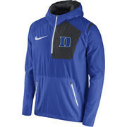 Men's Nike Royal Duke Blue Devils 2016 Sideline Vapor Fly Rush Half-Zip Pullover Jacket