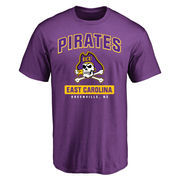Men's Purple East Carolina Pirates Campus Icon T-Shirt
