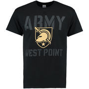 Men's New Agenda Black Army Black Knights Blackout Focus T-Shirt