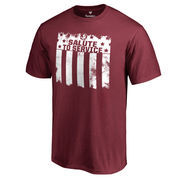 Men's Garnet Florida State Seminoles 2016 Salute To Service T-Shirt