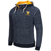 Men's Colosseum Navy West Virginia Mountaineers Camber Sweater