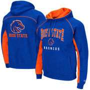 Men's Colosseum Royal Boise State Broncos Crest Pullover Hoodie