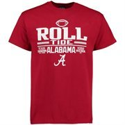 Men's Blue 84 Crimson Alabama Crimson Tide 2015 AdvoCare Classic T-Shirt