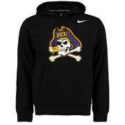 Men's Nike Black East Carolina Pirates Big Logo Fleece Hoodie