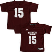 Mississippi State Bulldogs adidas Toddler No. 15 Replica Football Jersey - Maroon