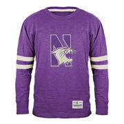 Northwestern Wildcats Gameday Mascot Slub T-Shirt - Purple
