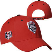 New Mexico Lobos Top of the World Triple Threat Hat - Cherry