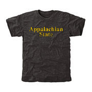 Men's Black Appalachian State Mountaineers Classic Wordmark Tri-Blend T-Shirt