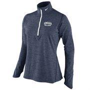 Women's Nike Navy Blue Gonzaga Bulldogs Heather Element Training Performance Jacket