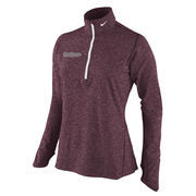 Women's Nike Crimson Harvard Crimson Element Quarter-Zip Jacket