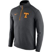 Men's Nike Anthracite Tennessee Volunteers Coaches Sideline 1/2 Zip Knit Performance Jacket