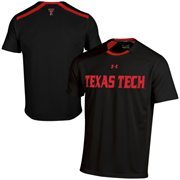 Texas Tech Red Raiders Under Armour Sideline Win It Performance T-Shirt - Black