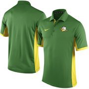 Men's Nike Apple Green Oregon Ducks Team Issue Performance Polo