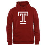 Crimson Temple Owls Classic Primary Pullover Hoodie