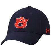 Men's Under Armour Navy Auburn Tigers Sideline Renegade Solid Structured Flex Hat