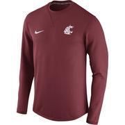 Men's Nike Crimson Washington State Cougars Modern Crew Neck Sweatshirt