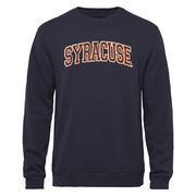Syracuse Orange Arch Name Sweatshirt - Navy Blue