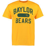 Men's Gold Baylor Bears Athletic Issued T-Shirt