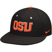 Men's Nike Black Oregon State Beavers True Vapor Performance Fitted Hat