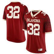 Men's Nike Crimson Oklahoma Sooners #32 Limited Football Jersey