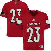 Men's adidas #23 Red Louisville Cardinals Replica Football Jersey