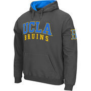 Men's Colosseum Charcoal UCLA Bruins Double Arches Pullover Hoodie