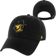 '47 Brand Appalachian State Mountaineers Throwback Clean Up Adjustable Hat - Black