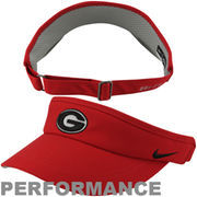 Nike Georgia Bulldogs 2013 Sideline Dri-FIT Adjustable Performance Visor - Red