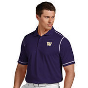 Men's Antigua Purple Washington Huskies Icon Polo
