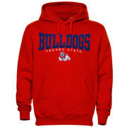 Fresno State Bulldogs Hitch Hoodie - Cardinal