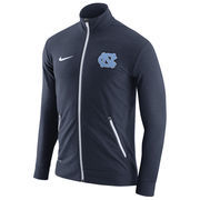 Men's Nike Heathered Navy North Carolina Tar Heels Elite Player Touch Full-Zip Performance Jacket