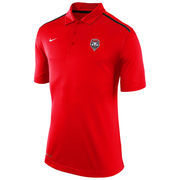 New Mexico Lobos Nike Elite Coaches Sideline Performance Polo - Red