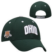 Ohio Bobcats Top of the World Triple Threat Hat - Green