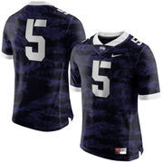 Men's Nike Purple TCU Horned Frogs #5 Limited Football Jersey