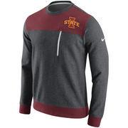 Men's Nike Charcoal Iowa State Cyclones AV15 Fleece Sweatshirt