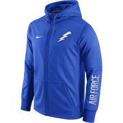 Men's Nike Royal Air Force Falcons Circuit Full-Zip Performance Hoodie