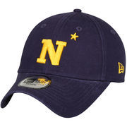 Men's New Era Navy Navy Midshipmen Relaxed 49FORTY Fitted Hat