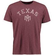 Men's '47 Brand Maroon Texas A&M Aggies Vintage Scrum T-Shirt