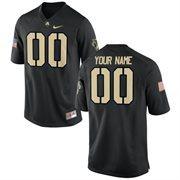 Nike Mens Army Black Knights Custom Replica Football Jersey - Black