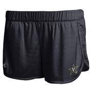 Women's Vanderbilt Commodores Under Armour Black Performance Mesh Shorts
