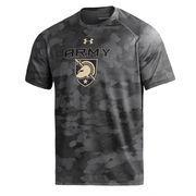 Men's Under Armour Black Army Black Knights Tech Novelty Camo T-Shirt