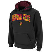 Men's Stadium Athletic Black Arizona State Sun Devils Arch & Logo Pullover Hoodie