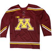 Mens Minnesota Golden Gophers Maroon Twill Hockey Jersey